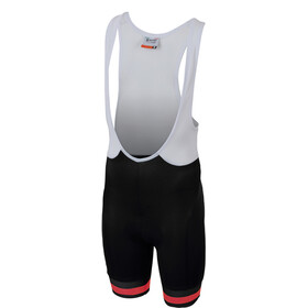 Sportful Tour 2.0 Bibshorts Børn, black/orange sdr